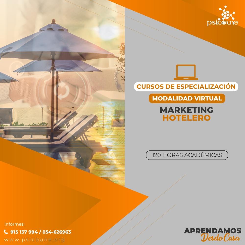 CURSO DE ESPECIALIZACION :  MARKETING HOTELERO